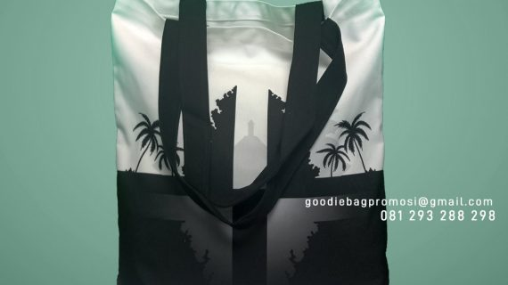 Tas Bahan Kanvas Desain Printing Intiland Tower Tanah Abang Jakarta
