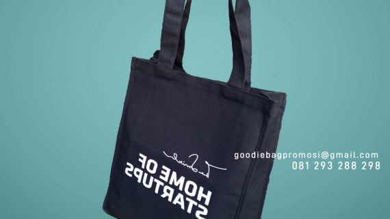 Tote Bag Kanvas Custom Sablon Alam Sutera Kunciran Pinang Tangerang
