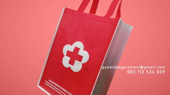 Jual Goodie Bag Spunbond Sablon Grand Depok City Kota Kembang Cilodong Depok