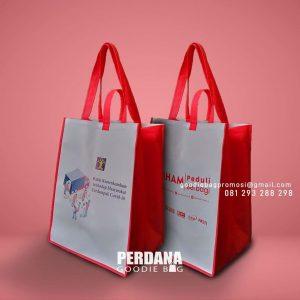 Tas Goodie Bag Bansos Printing Perumahan Wika Mahogany Hills Balikpapan ID8631P