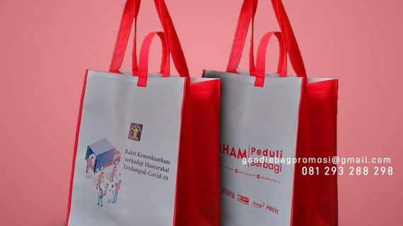 Tas Goodie Bag Bansos Printing Perumahan Wika Mahogany Hills Balikpapan