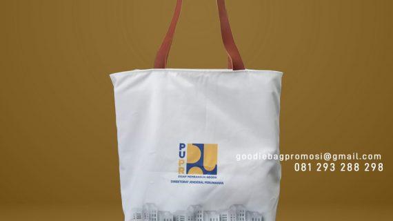 Tote Bag Kanvas Custom Desain Printing Pattimura Selong Kebayoran Baru Jakarta
